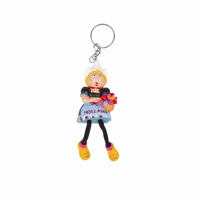 Typisch Hollands Keyring Dutch female costume