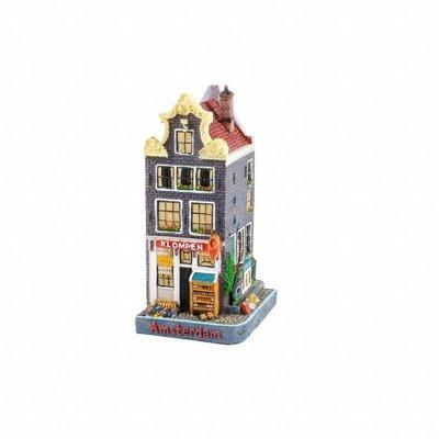 Typisch Hollands Fassadenhaus Clog Store 12 cm