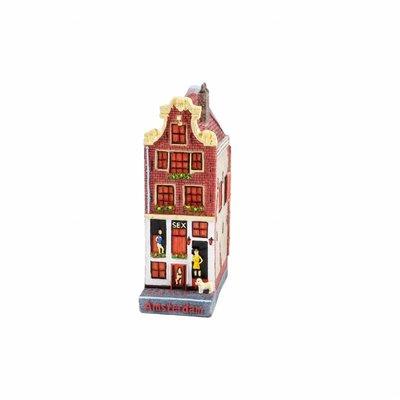 Typisch Hollands Gevelhuisje sexhouse 12 cm