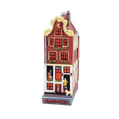 Typisch Hollands Fassadenhaus Sexhaus 12 cm