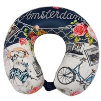 Robin Ruth Fashion Neck pillow - d-luxe -Flowers- Amsterdam