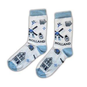 Holland sokken Herensokken - Holland Delfts maat 40-46