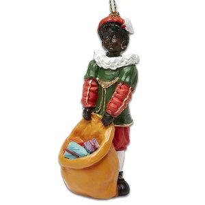 Typisch Hollands Pakjes Piet - Zak vol met cadeau`s 7cm