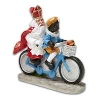 Typisch Hollands Sint and Piet on the bike