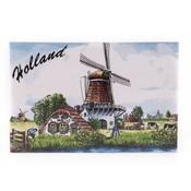 Typisch Hollands Dekorfliese 15 x 10 cm Farbe Holland