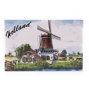 Typisch Hollands Siertegel 15 x 10 cm Color Holland