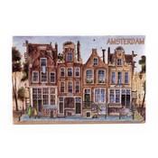 Typisch Hollands Dekorfliese 15 x 10 cm Farbe Amsterdam