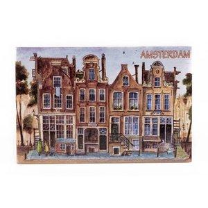 Typisch Hollands Siertegel 15 x 10 cm Color Amsterdam