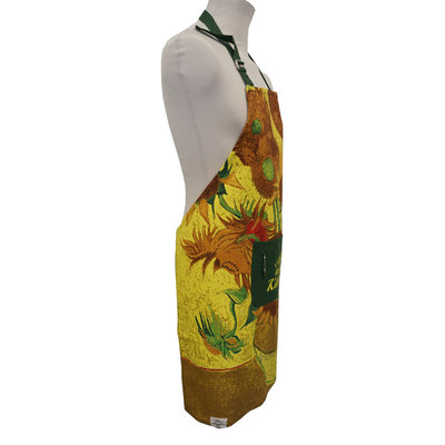 Memoriez Luxury kitchen apron - Sunflowers - Vincent van Gogh