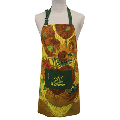 Memoriez Luxus Küchenschürze - Sonnenblumen - Vincent van Gogh