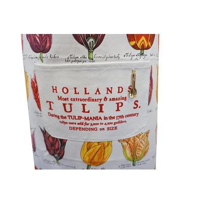 Typisch Hollands Luxus Küchenschürze - Classic - Tulpendekoration