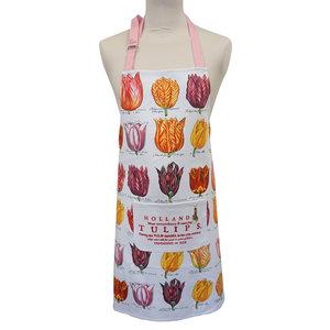 Typisch Hollands Luxury kitchen apron - Classic - Tulip decoration
