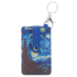 Typisch Hollands Card holder-key ring-Vincent van Gogh-Starry sky