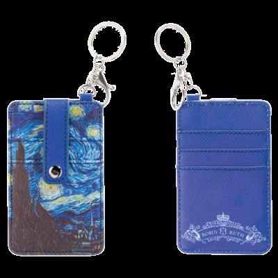 Typisch Hollands Pasjes houder-sleutelhanger-Vincent van Gogh-Sterrenhemel