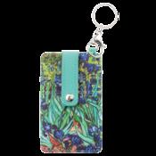 Typisch Hollands Kartenhalter-Schlüsselring-Vincent van Gogh - Iris