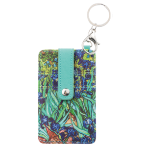 Typisch Hollands Card holder-key ring-Vincent van Gogh - Irises