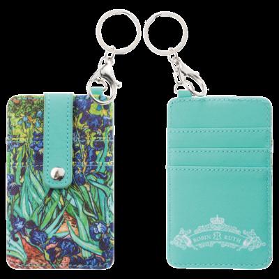 Typisch Hollands Card holder-key ring-Vincent van Gogh - Irises