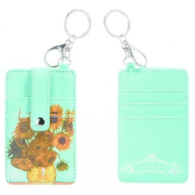 Typisch Hollands Card holder-keychain-Vincent van Gogh -Sunflowers