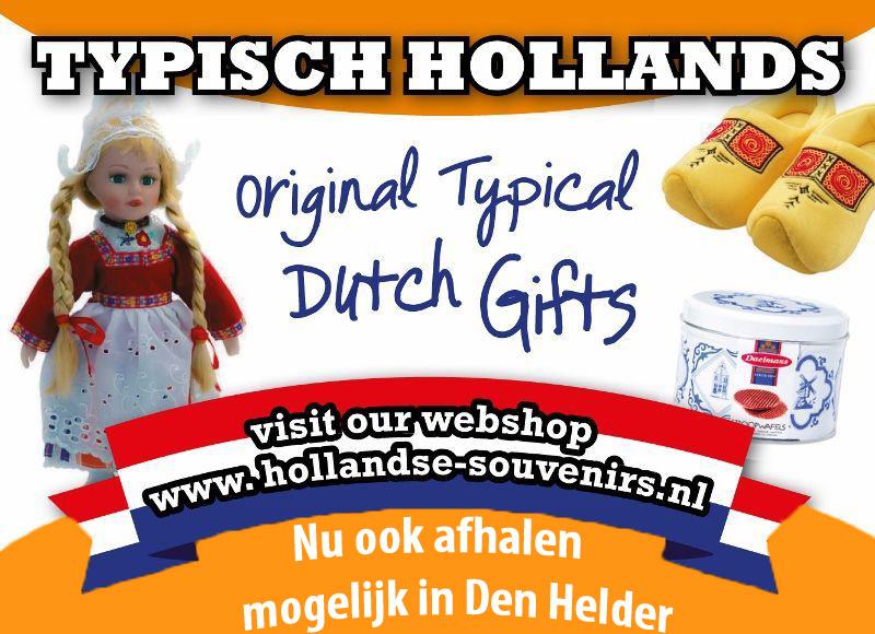 Typisch Hollands Souvenirs - Originele Nederlandse cadeau`s banner 1