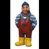 Typisch Hollands Visserman - Jutter mit den Händen in den Taschen