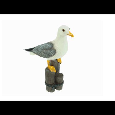 Typisch Hollands Gull 30 cm with glass eyes