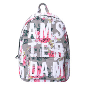 Robin Ruth Fashion Backpack - Flowers - Beige
