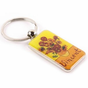 Typisch Hollands Sleutelhanger Zonnebloemen Van Gogh