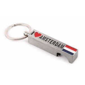 Typisch Hollands Schlüsselringöffner Ich liebe Amsterdamer Dose