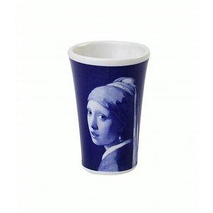 Heinen Delftware Shotglaasje Delfts blauw - Meisje met de Parel