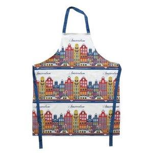 Typisch Hollands Kochschürze - Amsterdam - Fassaden - Farbe