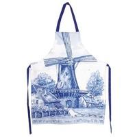 Typisch Hollands Keukenschort - Holland - Molen - Delfts