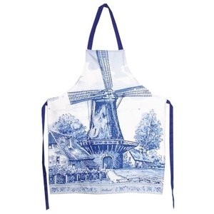 Typisch Hollands Cooking Apron - Holland - Mill - Delft
