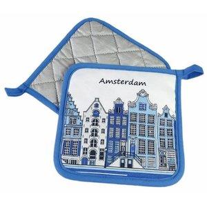 Typisch Hollands Pannelappen Amsterdam Fassadenhäuser