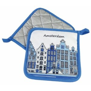 Typisch Hollands Pannelappen Amsterdam gevelhuisjes