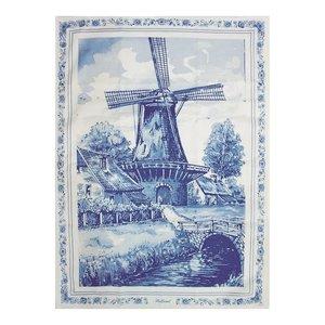 Typisch Hollands Tea towel Holland - Mill