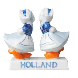 Typisch Hollands Delfter Blau Paar - Lesbisch