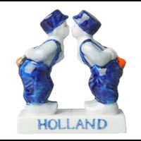 Typisch Hollands Delfter blaues Paar - Schwul