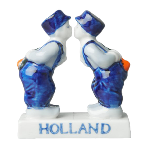 Typisch Hollands Delft blue couple - Gay