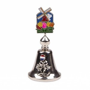 Typisch Hollands Handbell color mill Holland shiny silver