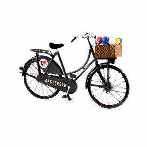 Typisch Hollands Miniature bike - Black (Amsterdam) 13.5 cm