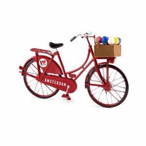 Typisch Hollands Miniature bike - Red (Amsterdam) 13.5 cm