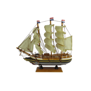 Typisch Hollands Dutch three-masted Amsterdam 16 cm
