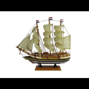 Typisch Hollands Niederländischer Dreimaster Amsterdam 16 cm