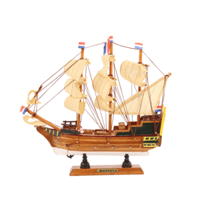 Typisch Hollands Dutch three-master Batavia 24 cm