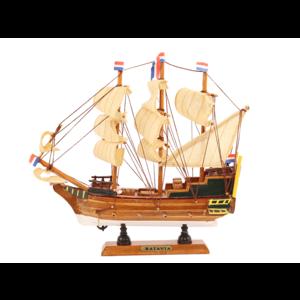 Typisch Hollands Niederländischer Dreimaster Batavia 24 cm