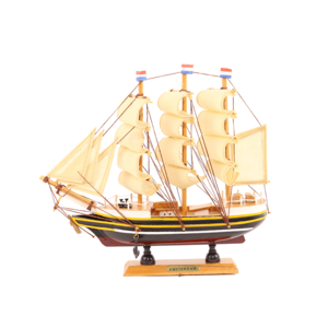 Typisch Hollands Dutch three-masted Amsterdam 24 cm