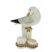 Typisch Hollands Gull on posts 10 cm