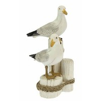 Typisch Hollands Seagull couple on posts 17 cm
