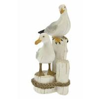 Typisch Hollands Seagulls set on posts 17 cm