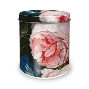 Typisch Hollands Tin stroopwafels - Golden age - Flowers - Heem